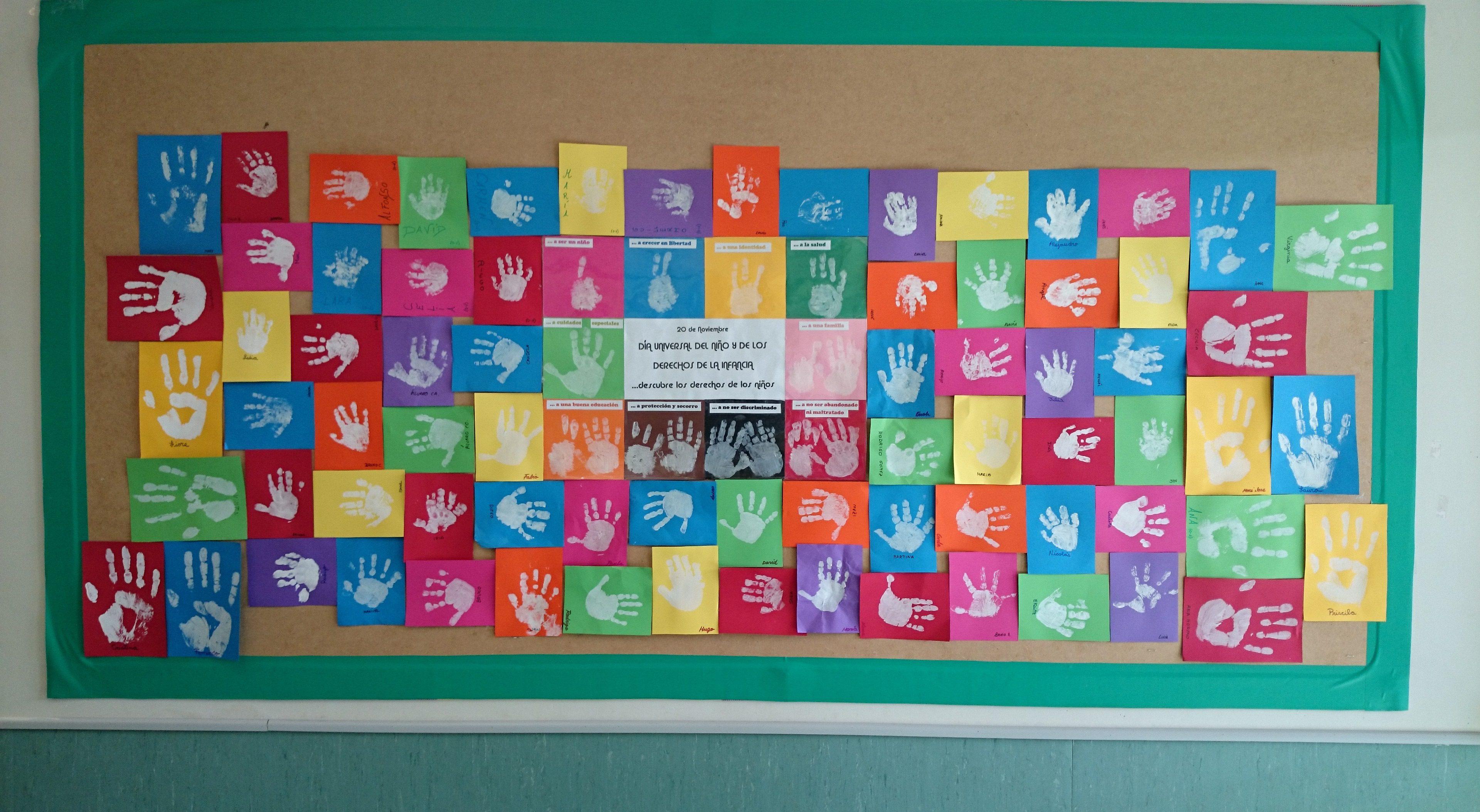 mural derechos de los niños