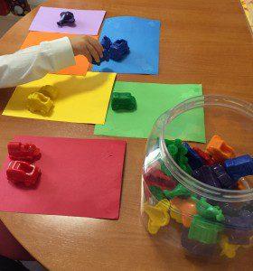 contadores goma clasificar colores medios transporte (1)