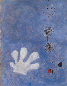 El guante blanco de Joan Miró