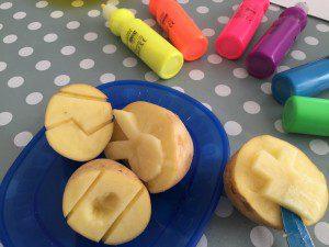 sellos con patata