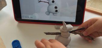 MODELANDO A OLAF