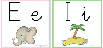 PRINTABLES – VOWELS