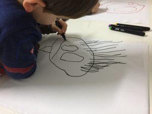 cojín dibujo infantil 767