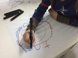 cojín dibujo infantil 770