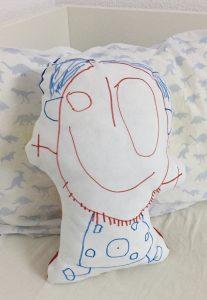 cojín dibujo infantil 813