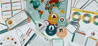 Materiales Cuento Navidad: «Los besos que sellaron las cartas de Santa Claus»
