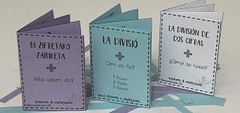 Mini libro división